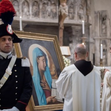 Napoli, Carabinieri celebrano la Virgo Fidelis e il 74° Anniversario della Battaglia di Culquaber
