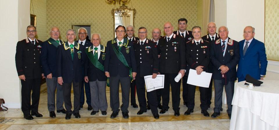 Festa per l'Arma dei carabinieri. Cerimonia di consegna della Medaglia Mauriziana