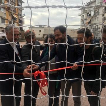 Napoli, Il Nest consegna ai bambini del Rione Villa il campetto riqualificato