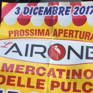 Giugliano, carabinieri bloccano la prossima apertura dell'Airone, il nuovo mercatino delle pulci.