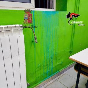 Soccavo, istituto tecnico Nitti vandalizzato con creolina e acido. Sorpresi ed arrestati i tre giovani responsabili