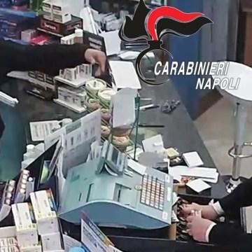 Caivano, rapinatore seriale di farmacie arrestato dai carabinieri