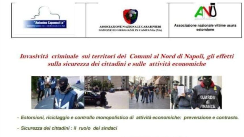 Calvizzano,venerdì l'Associazione Antimafia Antonino Caponnetto presenta il convegno antimafia sulla sicurezza dei cittadini e delle Attività Economiche
