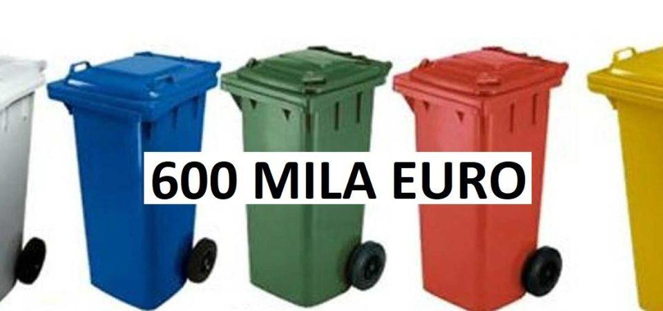 """Grumo Nevano, """"bidoni d'oro"""". 600 Mila euro la spesa prevista nel nuovo capitolato   d'appalto dei rifiuti. Il falso risparmio  dei 100 mila euro"""
