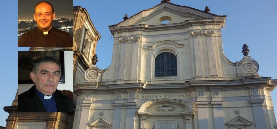 Grumo Nevano, Don Carmine Spada è il nuovo parroco della Basilica di San Tammaro. Don Alfonso D'Errico Parroco Emerito