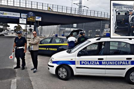 Frattamaggiore, task force contro trasporto illecito di merci e rifiuti