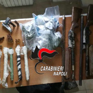 Camorra: Armi e droga, arsenale di guerra ritrovato a Sant'Antimo. Guarda il video