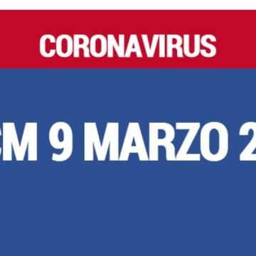 L'Italia ai tempi del Coronavirus. Il dpcm del 9 Marzo in pillole. Guarda le slide
