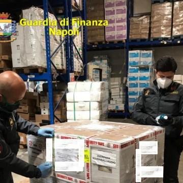 Coronavirus, sequestrati 1500 prodotti per la pulizia spacciati per prodotti anti Covid-19