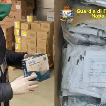 Coronavirus, da Napoli a Caserta dilaga la vendita di  mascherine, farmaci e prodotti anti Covid19 illegali