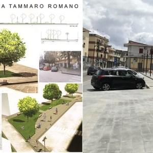 """Grumo Nevano, riqualificazione centro storico: """"variante"""" al progetto iniziale. Colata di cemento al posto del verde (foto)"""