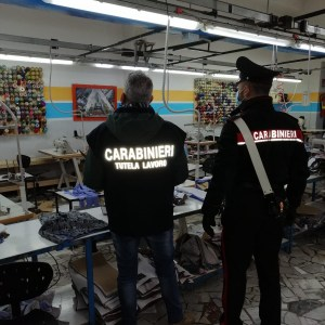 Grumo Nevano, carabinieri trovano 9 lavoratori a nero su 12. Denunciato titolare