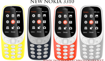 Old Nokia 3310 and New Nokia 3310