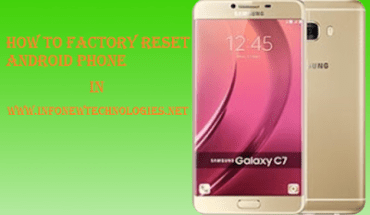 How to Factory Reset Android Phone or Tablet