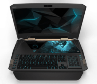 the specification of Acer Predator 21 X
