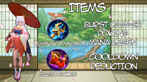 Kagura Guide in Mobile Legends, Build Items