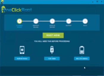 Root Android Using One Click Root