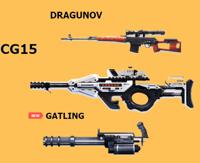 Best Weapons in Free Fire