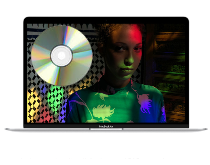 burn CDs and DVDs on Mac