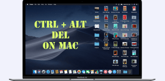 Ctrl Alt Del on Mac