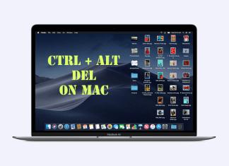 Ctrl Alt Del on Mac