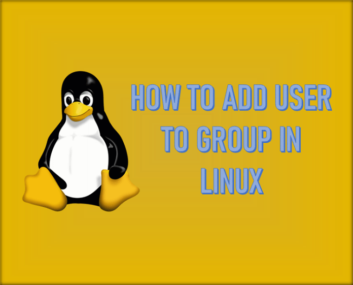 Linux Add User to Group