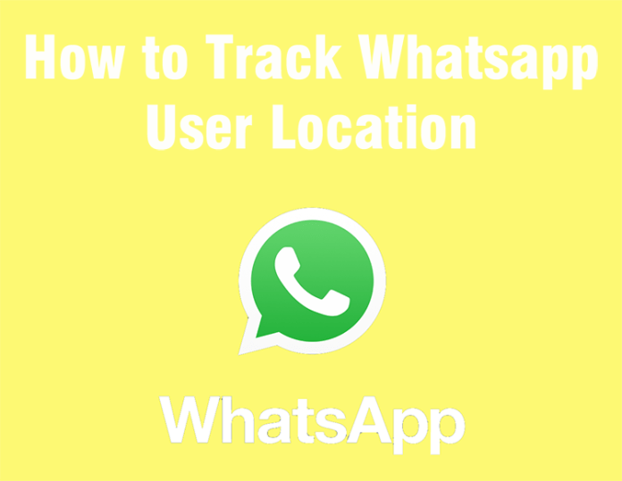 Track Whatsapp User Location