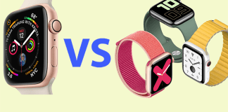 Apple Watch 5 vs Apple Watch 4