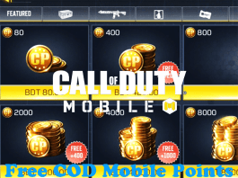 Free COD Mobile Points