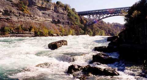 White Water Walk  Niagara Falls Whitewater Rafting