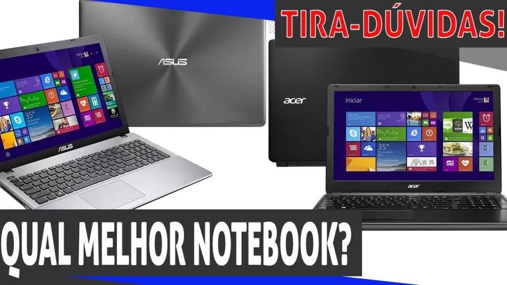 Qual melhor notebook?