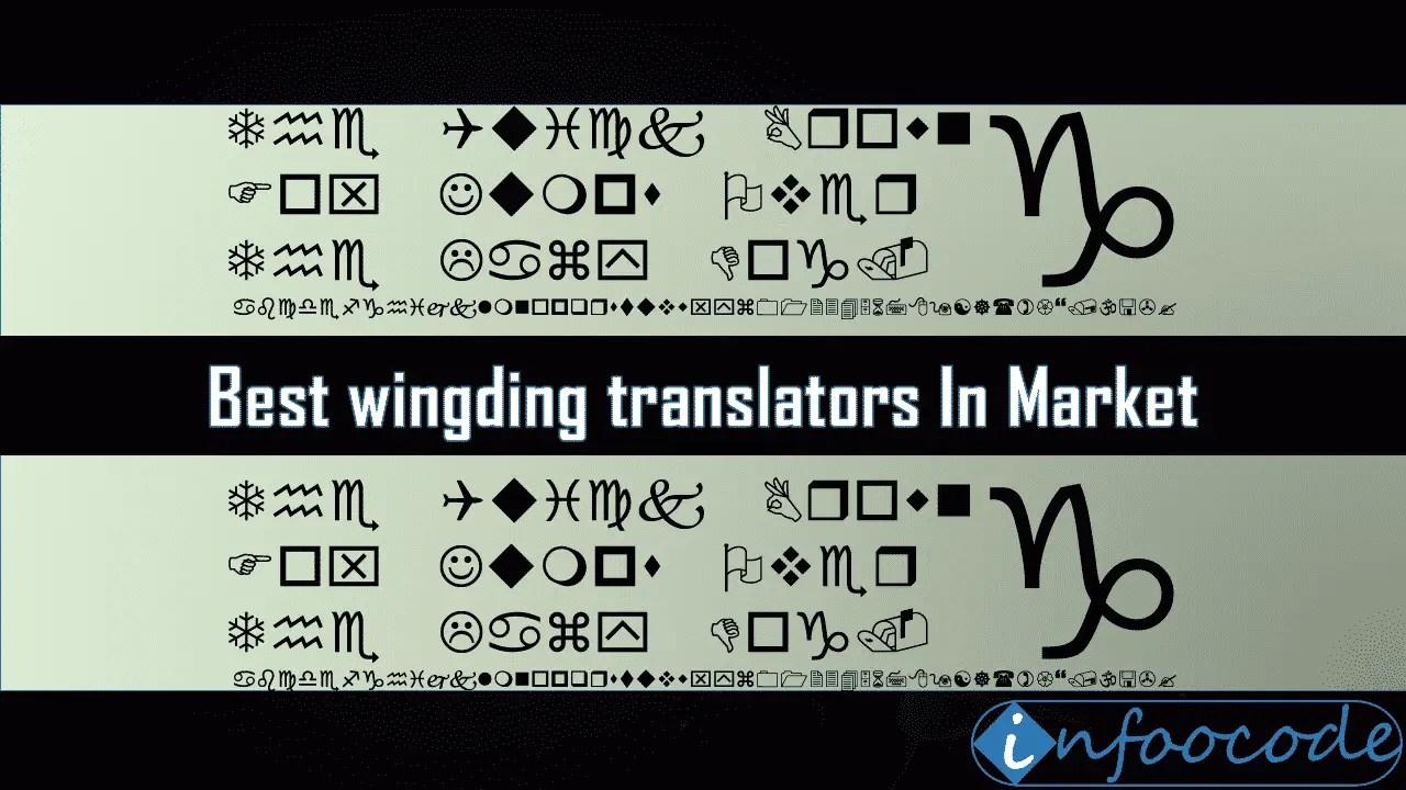 8 best wingding translators