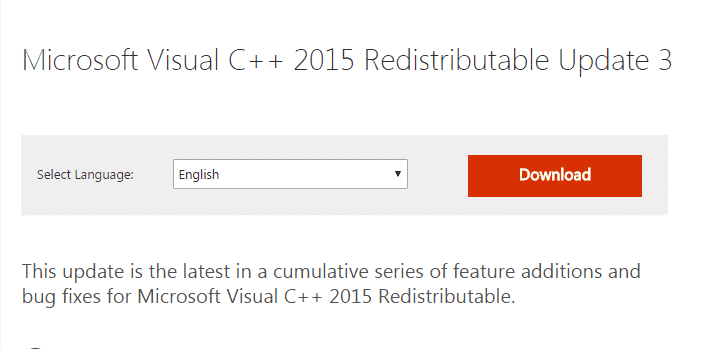 Microsoft-Visual-C-Redistribution
