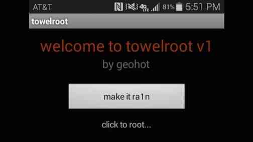Towel-Root