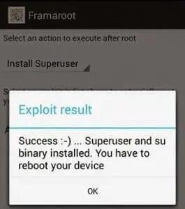 framaroot-success-root