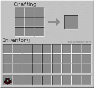 Move the Enchanting Table to Inventory