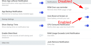 enable or disable auto start in android apps
