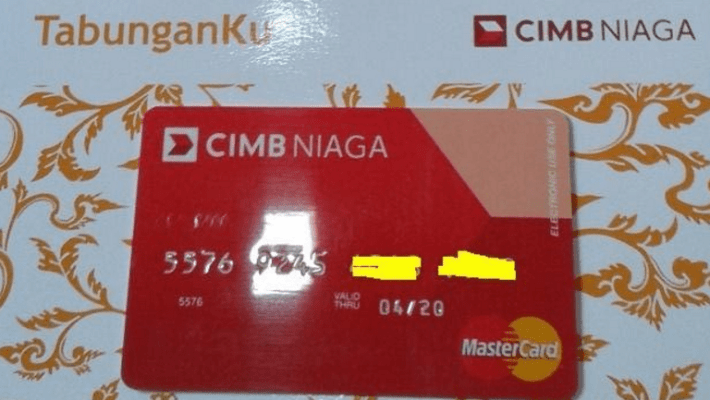 Buku Tabunganku Bank CIMB Niaga