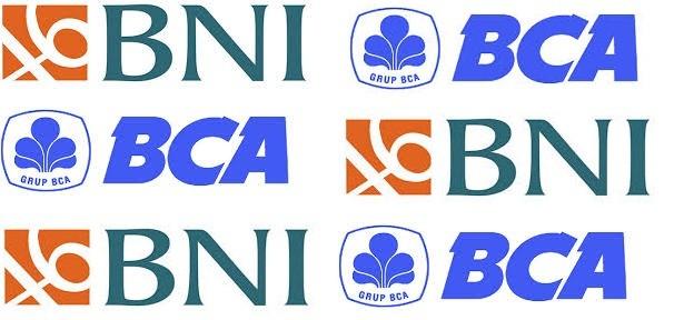 logo bank bca dan bni