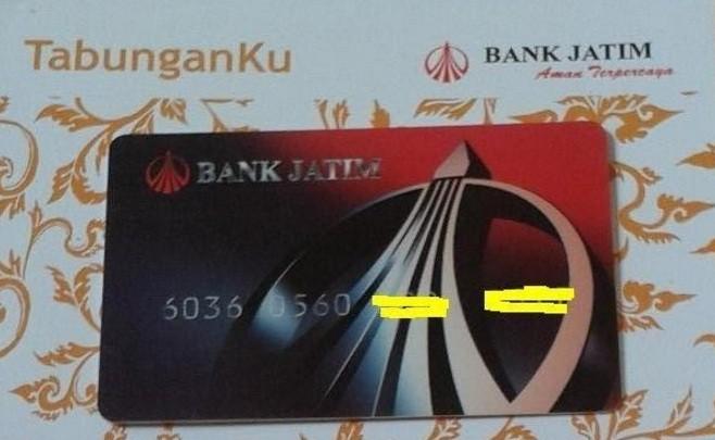 Buku Tabungan Bank Jatim