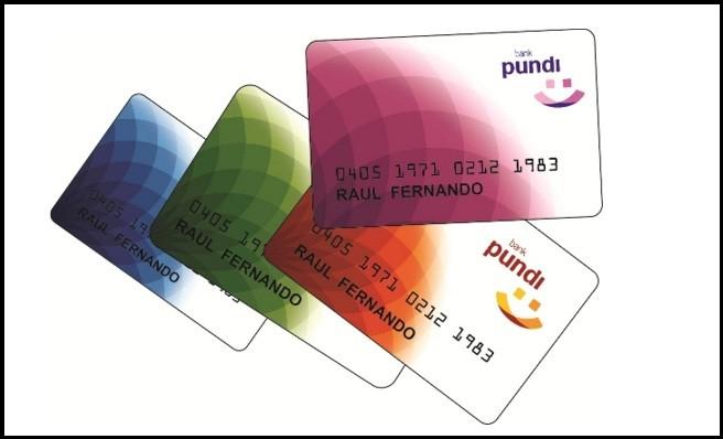 Kartu ATM Tabungan Pundi