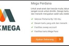 Tabungan Perdana Bank Mega