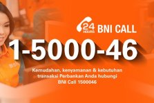 Call Center Bank BNI 24 Jam