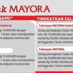 Buka Rekening Tabungan Bank Mayora Langsung Dapat Hadiah