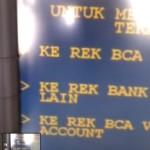 Bagaimana Cara Transfer Uang Lewat ATM Bank BCA ??