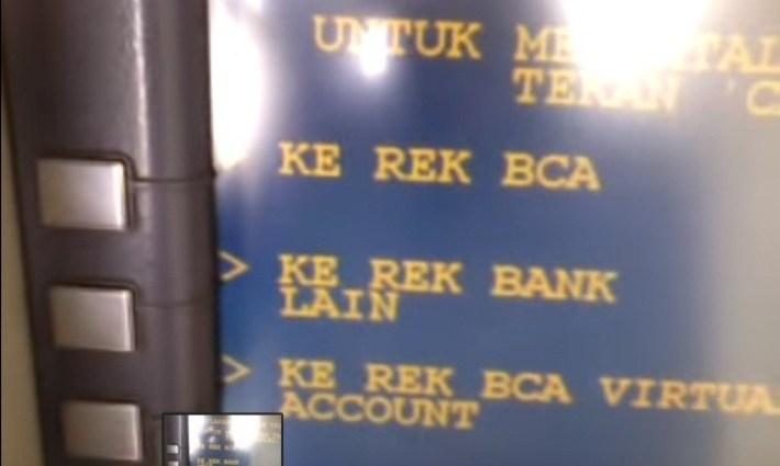 Transfer Uang ATM BCA