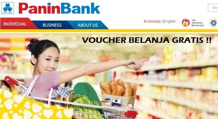 Voucher Belanja Gratis Tabungan Bank Panin