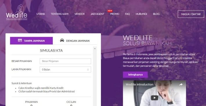 Pinjaman Biaya Pernikahan Wedlite