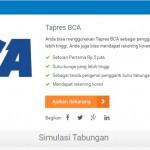 Buka Rekening Tabungan Tapres Bank BCA Setoran Awal Rp 5 Juta
