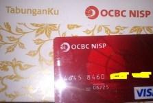 Buku Tabunganku bank ocbc nisp